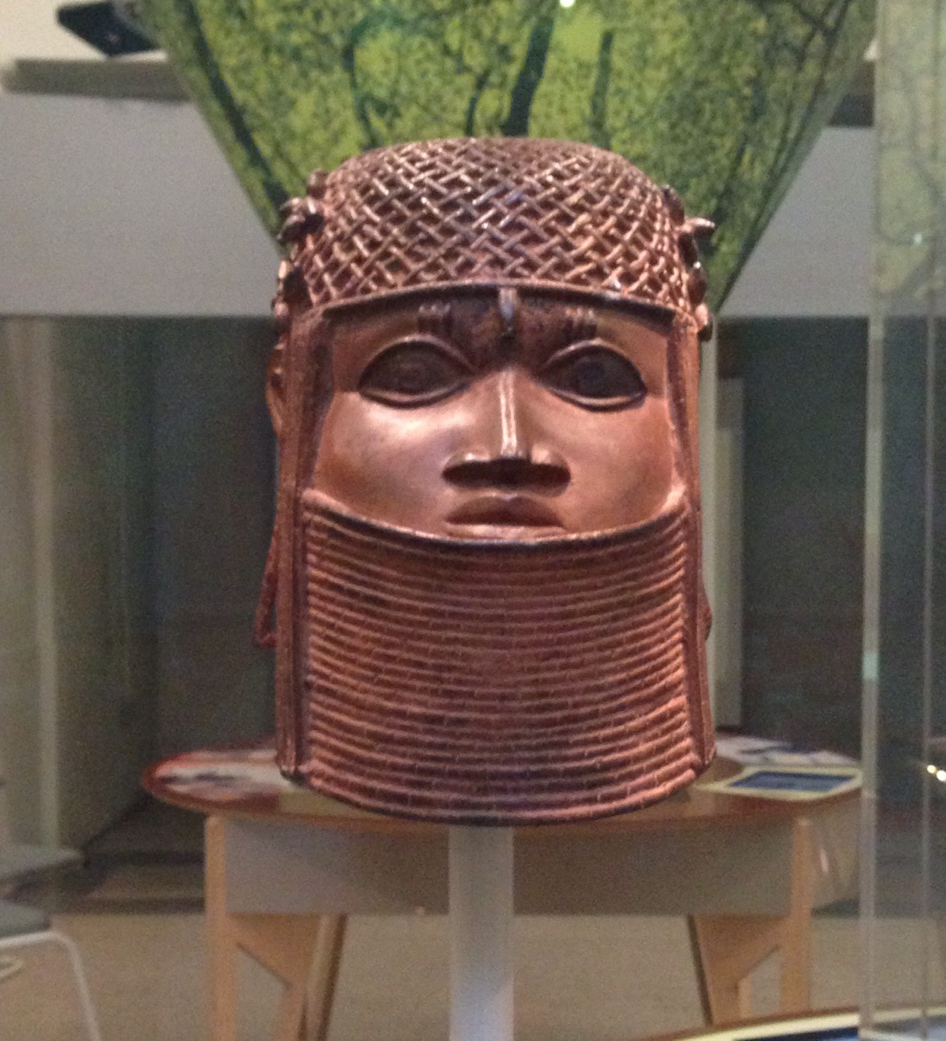 Ancestral head of an oba or king, Benin, Bristol Museum & Art Gallery