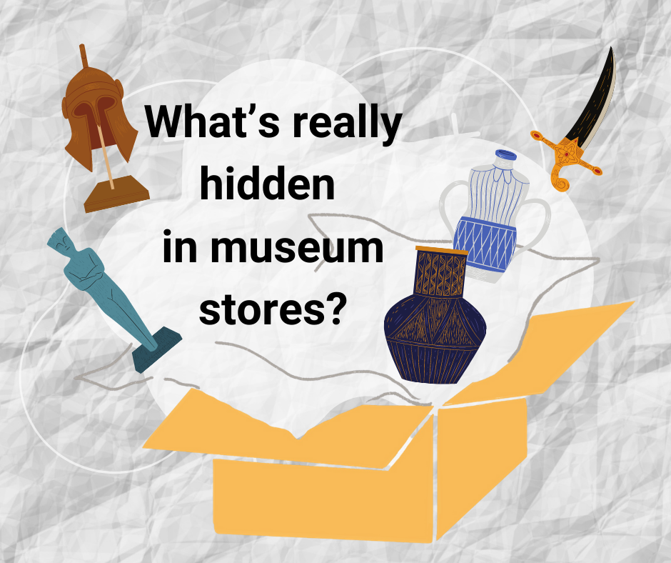 What's really hidden in museum stores?